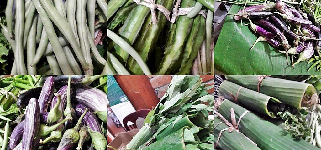 Organic vegetable products from Mangarita Organic Farm in Tarlac.